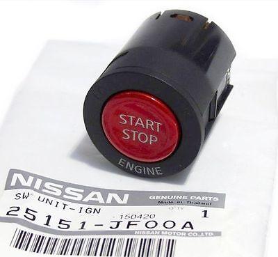 Genuine GT-R R35 Z34 370Z G37 Ignition Push Start Button Starter Switch Nissan