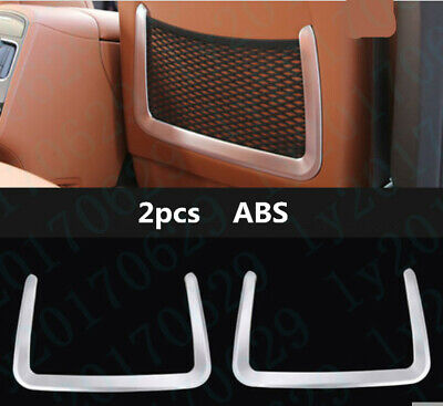 ABS Rear Seat Back Storage Frame cover trim For Maserati Levante 2017 2018 2019