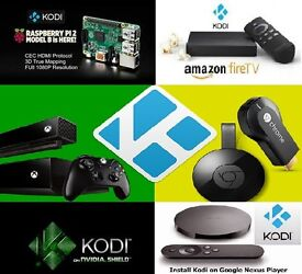KODI install on your existing devices! XBOXone. Chromecast. Firestick. Nexus. Nvidia Shield. Ras Pi2