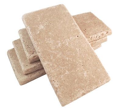 Walnut Tuscany 3x6 Aged Tumbled Travertine Tile Wall Floor Kitchen Backsplash Tumbled Travertine Tile
