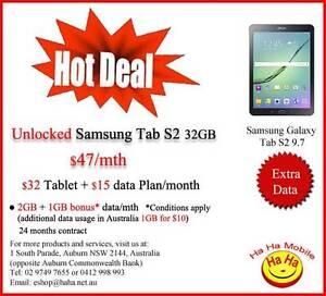 Brand New Unlock Samsung Galaxy Tab S2 9.7 32GB Wi-Fi + Cellular Auburn Auburn Area Preview