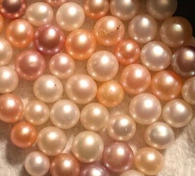 Akoya Pearls, Loose, Pink, Peach, Cream You Choose Color