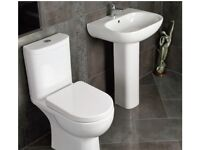 Tilly Modern Toilet & Basin Suite - 13824