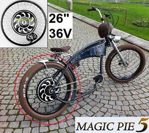 """NEW FATBIKE ELECTRIC CONVERSION KIT 26"""" REAR CONVERSION - 36V THUMB THROTTLE - BIKE BICYCLE Magic Pie 5 (VECTOR)"""