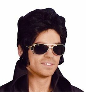 SILVER Elvis Style Novelty Shades PARTY GLASSES Fancy Dress Sunglasses King UK