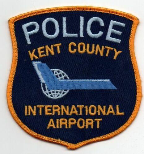 MICHIGAN MI KENT COUNTY AIRPORT POLICE NICE PATCH SHERIFF
