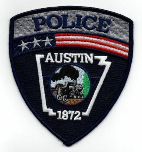 AUSTIN POLICE ARKANSAS AR NEW PATCH SHERIFF TRAIN