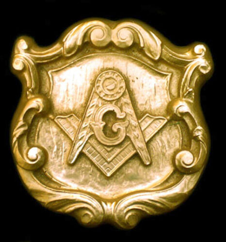 Freemason Mason Lodge Symbol temple sculpture art plaque Replica