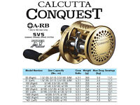 51S 01 - 50S Shimano carbon drag CALCUTTA CONQUEST 50 04 51