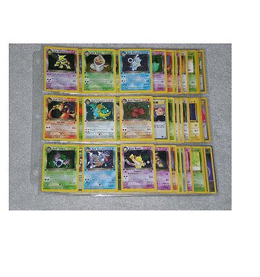 Complete Pokemon 1st Edition Team Rocket Set 83/82 Charizard Ultra Rare Holo