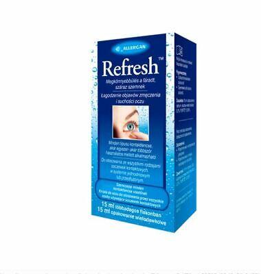 REFRESH 15 ml beruhigende Augentropfen TROCKENE müde AUGEN - Trockene Augen Kontaktlinsen