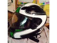 Shoei xr1100 motorcycle crash helmet. Large. REDUCED. Kawasaki? Not arai agv shark