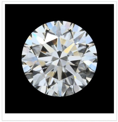 3.00 Ct IGI Certified Lab Grown Loose Diamond H/SI1 Round Cut Premium Diamond