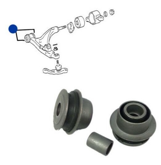 LEXUS GS350 GS430 2005-2011 FRONT LOWER CONTROL ARM BUSH / BUSHES KIT