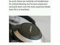 Bose over the ear headphones earphones phones ae2