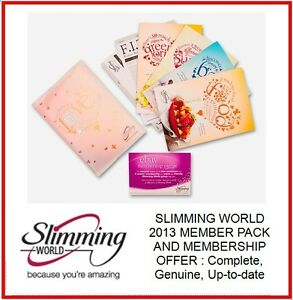 Unique Slimming World Starter Pack 2013 Membership Offer