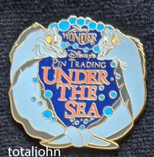 24448 DCL - Pin Trading Under the Sea Flotsam and Jetsam Pin