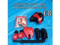 Inflatable Punch Bag & Boxing Accessories