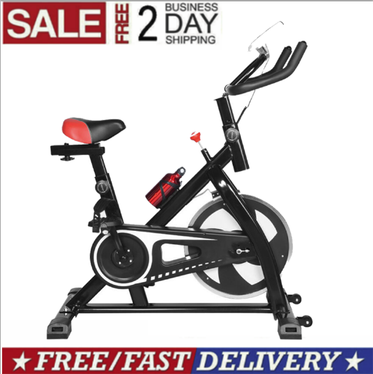 Stationary Exercise Bike Fitness Cycling Spin Bicycle Cardio