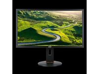 Acer XF270H 27 inch FHD Gaming Monitor (1080p, TN Panel, G-Sync Compatible, 144Hz, 1ms, DP, HDMI)