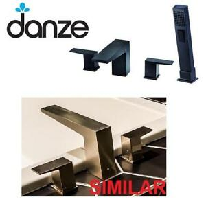 NEW DANZE ROMAN TUB FAUCET  SPRAY 184072608 WITH HAND SHOWER ROUGH IN - BATHROOM TRIM KITS TUB