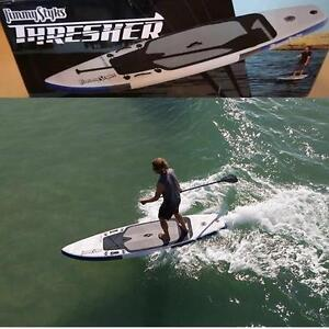 """NEW JIMMY STYK THRESHER PADDLEBOARD 10' x 8"""" INFLATABLE STAND UP PADDLE BOARDS PADDLEBOARDS WATERCRAFT WATER SPORT"""