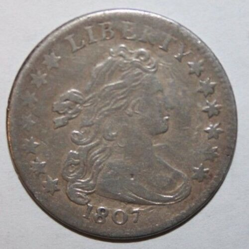 1807 Bust Silver Dime I44