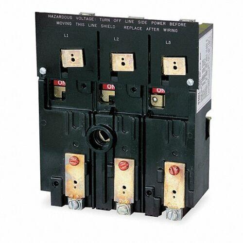 TELEMECANIQUE/SCHNEIDER ELECTRIC D10S4 DISCONNECT SWITCH, 3 POLE, 2FL78, NEW!