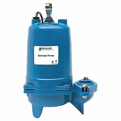 Goulds Water Technology Sewage Ejector Pump Hp 1  Ws1034bhf