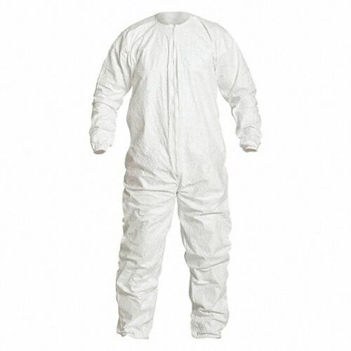 Case of 25 Individual Wrapped DuPont Tyvek IsoClean Coveralls L Exp. 12/2023