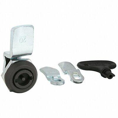 Cam Locking Cam Latch 1 332 In Black Plastic 4rrf8