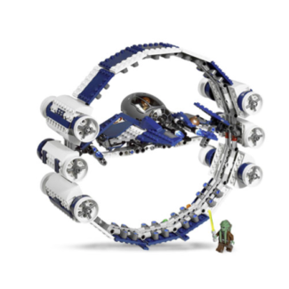 Lego Jedi Star-fighter with Hyperdrive Booster Ring (#7661)