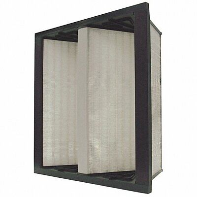 24x24x12 4py72 Fiberglass V-bank Air Filter Merv14 Hepa High Efficiency Filter