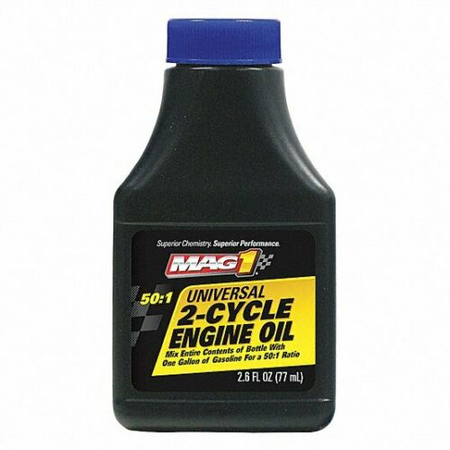 2 Cycle Conventional Engine Oil, Dark Blue, 2.6 Oz. Mag 1 Mag60179
