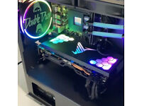 RGB GPU/PSU Cover 5V Aura Sync Geforce RTX Graphics Card Cover