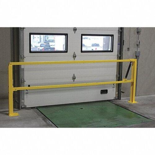 PS Doors Single Opening Loading Dock Safety Gate, LDSG-120-PCY