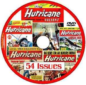 Tiger and Hurricane comic 9th April 1966 Fleetway Publication v/g