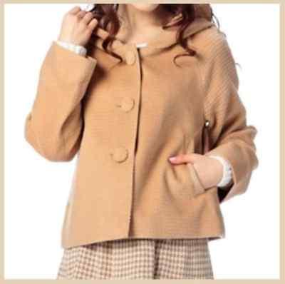 LIZ LISA light brown Jacket Coat Excellent Condition Shibuya Hime Lolita Gyaru