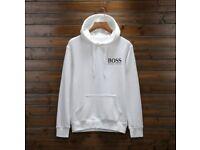 men white Hugo Boss hoodie (medium)