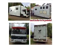 7.5 ton horsebox for sale
