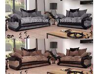 Sheldon sofas with free pouffe