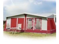 Immaculate full awning. Size 975, fits 5 and 6 berths caravans