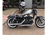 V&H Exhausts for Harley Davidson Sportster