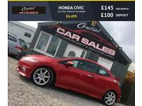 HONDA CIVIC 2.0 I-VTEC TYPE-R GT (198BHP) VERY TIDY CAR FINANCE PARTX WELCOME