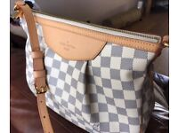 Louis Vuitton Siracusa PM Damier Azur bag - Never been used!