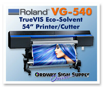 Roland Truevis Vg-540 54 Printer Cutter Plus 1 Year Warranty - Refurbished
