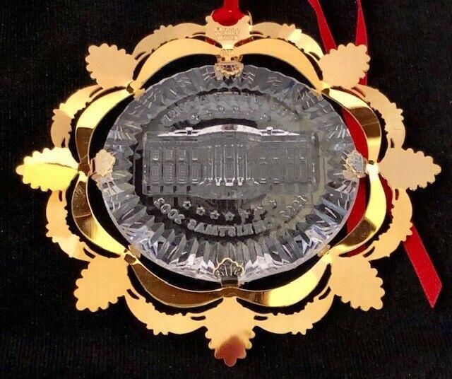 The White House Historical Association Christmas Ornament 2002 NIB