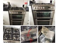 Hotpoint duel fuel, electric oven & gas hob!