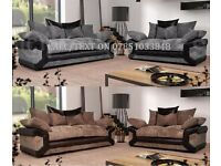 Brand new sofas with free footstool