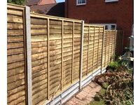 Garden Fence Erection and Maintenance, Fencing Services, Domestic Fencing in Dereham, Norwich, Holt